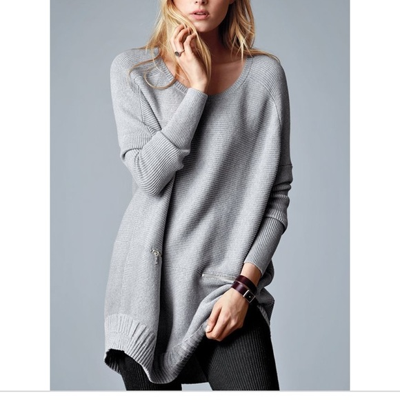Victorias Secret Sweaters Vs Ribbed Poncho Sweater A Kiss Of